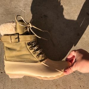 Sperry Topsider J.Crew snow boots